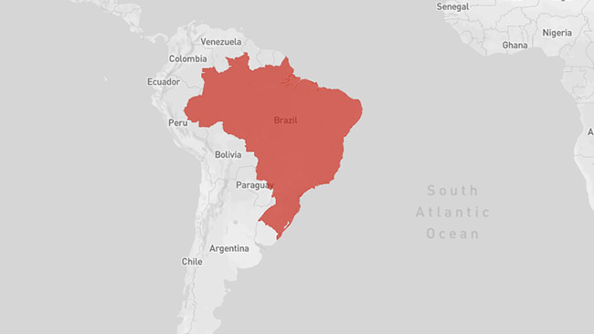 The Spread Of Zika - Argentina zika map